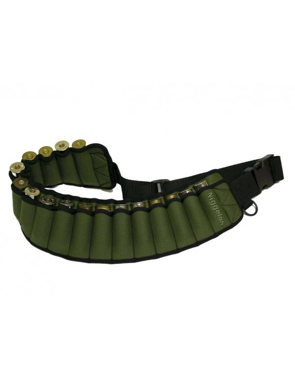 Pás Niggeloh - na 17ks brok. nábojů, zelený (021100030)
