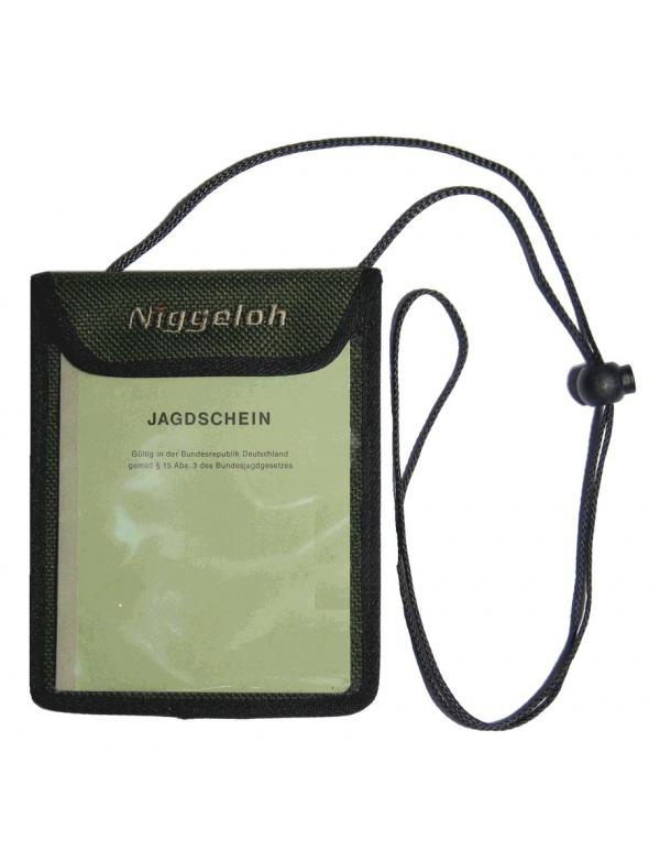 Taštička Niggeloh - na doklady, na krk (021100026)