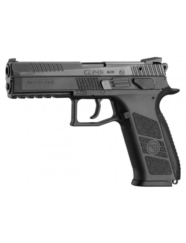 Pistole samonabíjecí CZ P-09, r.9mm Luger,oba ovladače