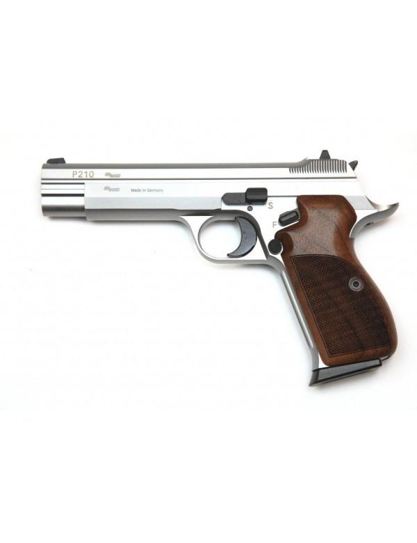 Pistole samonabíjecí SIG Sauer P210 LEGEND SILVER r. 9mm Luger