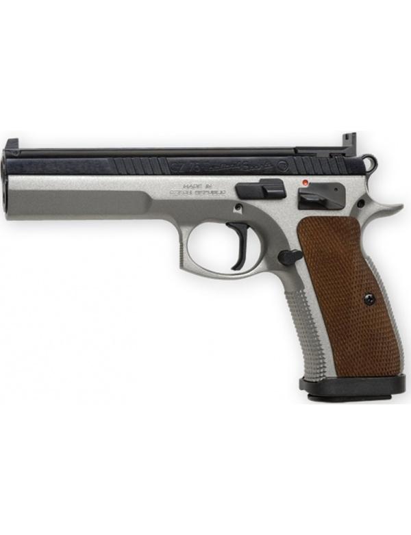 Pistole samonabíjecí CZ 75 TS (Tactical Sports), r.9mm LUGER - kombinovaný stř. lak