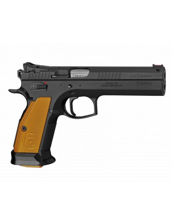 Pistole samonabíjecí CZ 75 TS Orange, r.9mm Luger