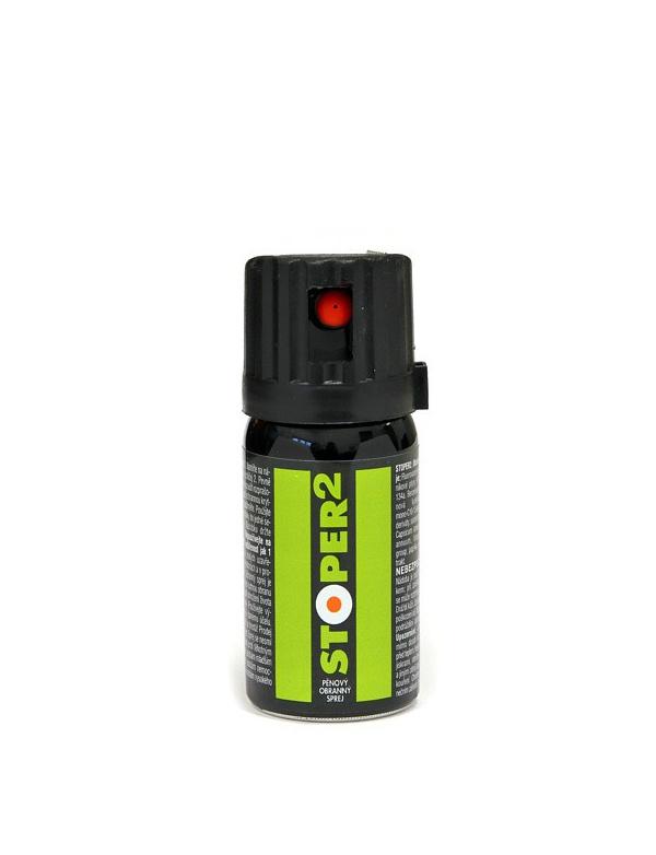 Spray Šedivý - STOPER 2 (40ml) - pěna