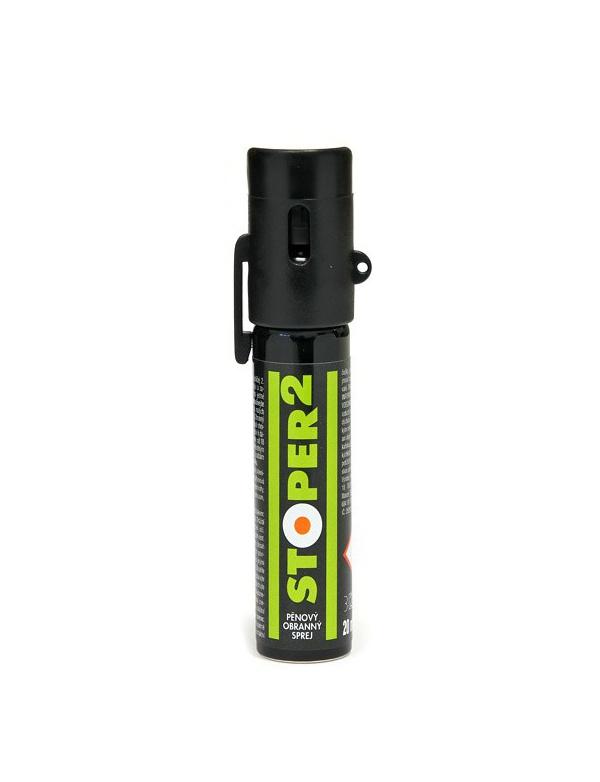Spray Šedivý - STOPER 2 (20ml) - pěna