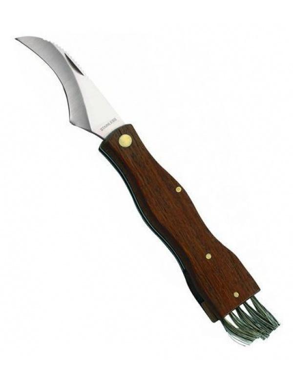 Nůž Herbertz - *211111* houbařský, zavírací štěteček