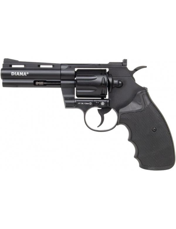 """Vzduchovkový revolver Diana Raptor 4"""", r.4,5mm 2,5J, (CO2 bombička)"""