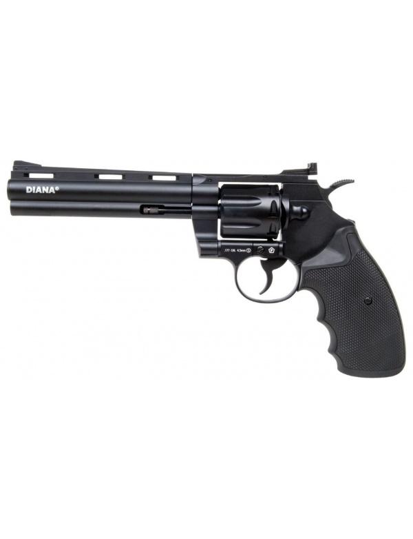 """Vzduchovkový revolver Diana Raptor 6"""", r.4,5mm 3,0J, (CO2 bombička)"""