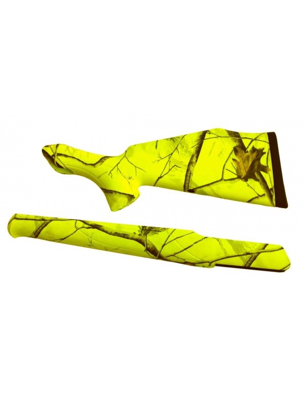 Pažba Sauer plastová s reflexním povrchem (žlutá) (pažba + předpažbí)