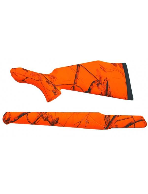 Pažba Sauer plastová s reflexním povrchem (oranžová) (pažba + předpažbí)