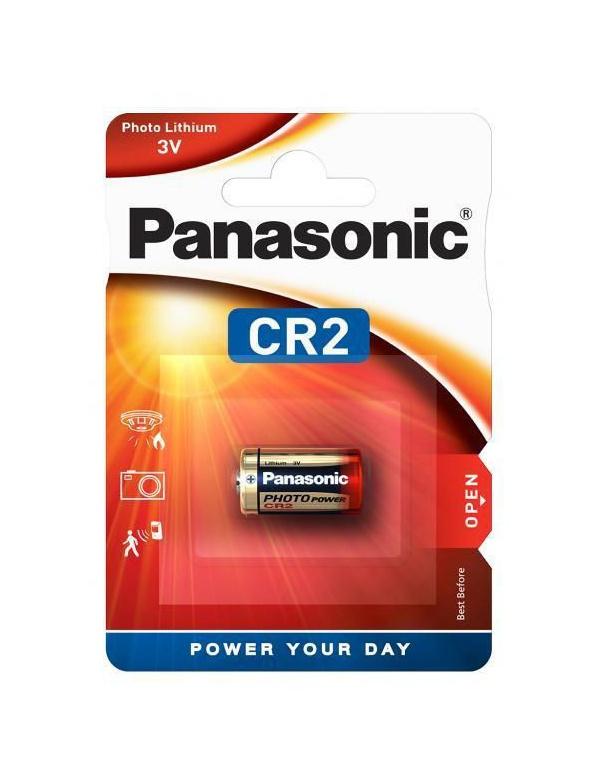 Baterie Panasonic CR-2 EP/1B