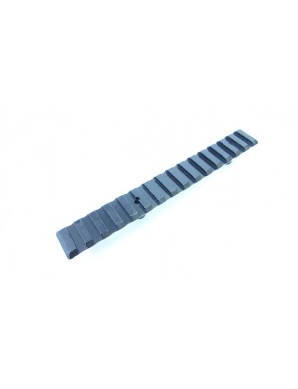 Montáž MAK - Weaver lišta, na základny MAK, délka 160 mm (2460-50160)