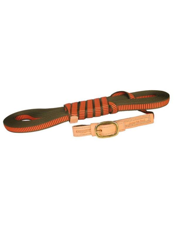 Vodítko Niggeloh - TRACKING, nylon, oranžové, 20mm-12m (011100018)