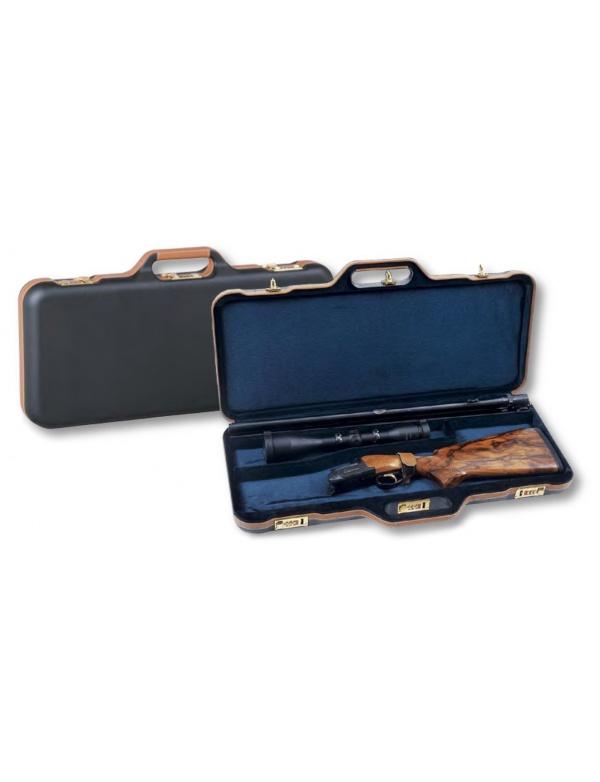 Kufr Negrini *Mod.5-67 LX* Blaser rozl.zbraň, modré, červ. samet,3x zámek
