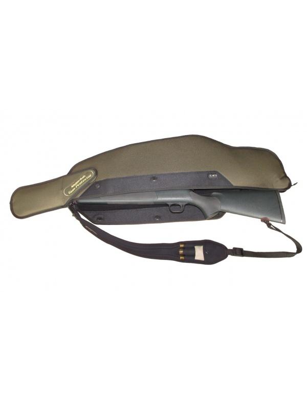 Pouzdro Niggeloh - obal s krátkou klaplí na zbraň do 1,15m s optikou (071100004)