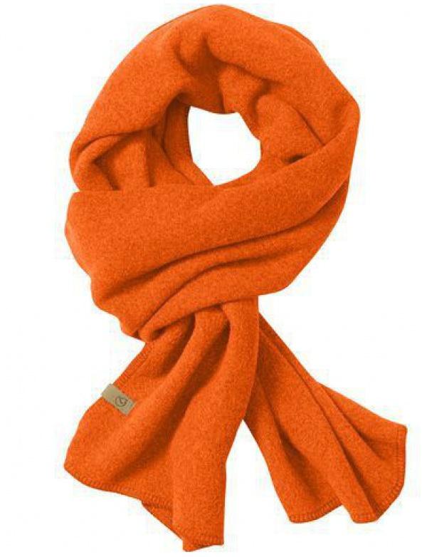 Šála Fjällräven Lappland Fleece Scarf (77325), barva 210 - Orange