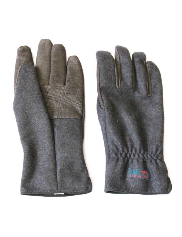 Rukavice JAGDHUND * Fingerling * prstové neklouzavé, 95%vlna+5%velbloudí srst