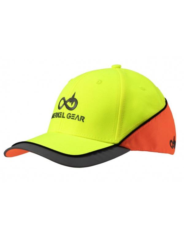 Čepice Merkel - MG High-Vis Yellow/Blaze Cap