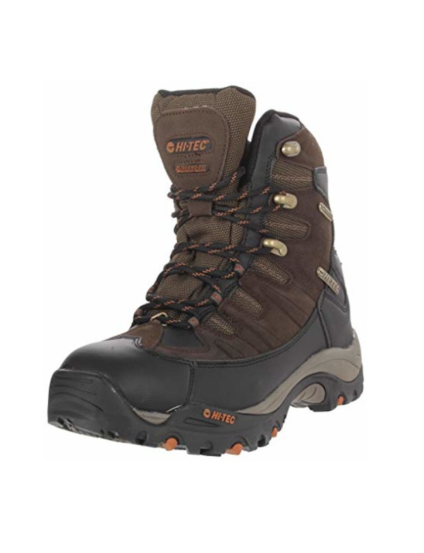 **Boty HI-TEC - Jackson Hole 400 - vysoká hnědá bota