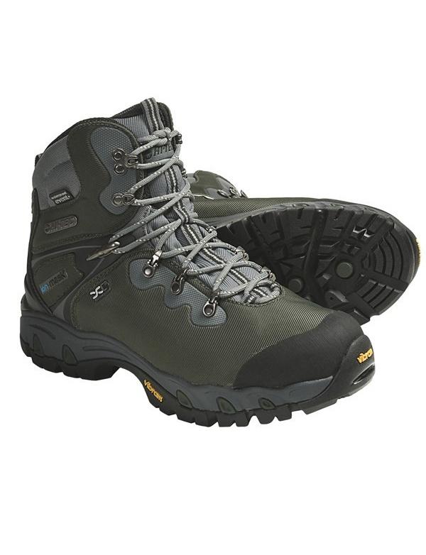 **Boty HI-TEC - Cascadia eVENT WPi - vyšší zelená vodě odolná bota, celoroční