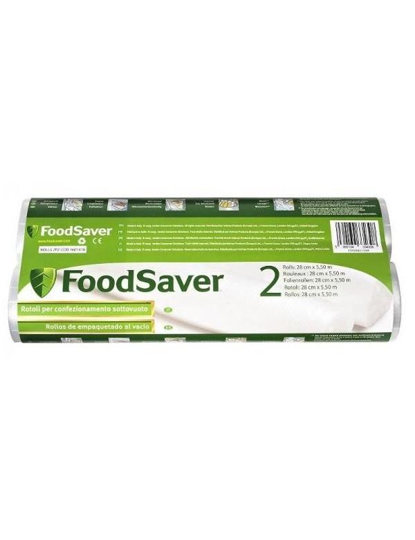 Potravinová fólie FoodSaver - sada 2ks rolka, 28x550cm (FSR2802-I / PO857)