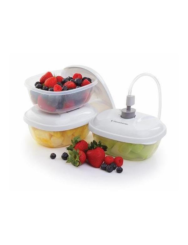 Nádoby FoodSaver - sada 3ks jídelních nádob (T020-00024/PO861)