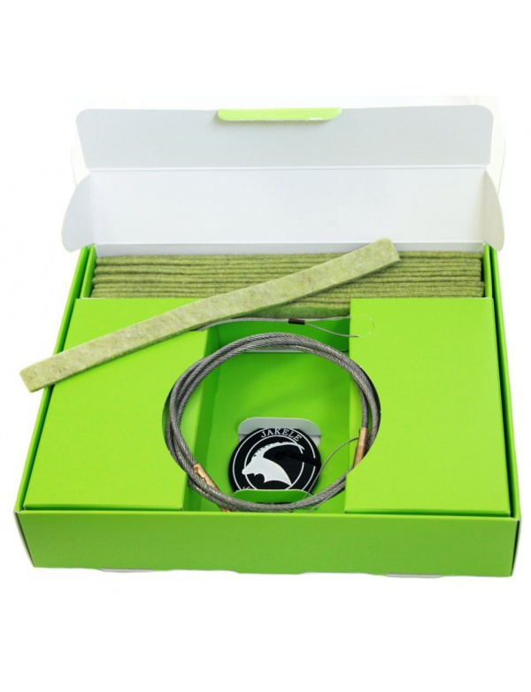 Čištění Jakele * Field-Kit * cal. .243 - 6,5mm - sada, zelená