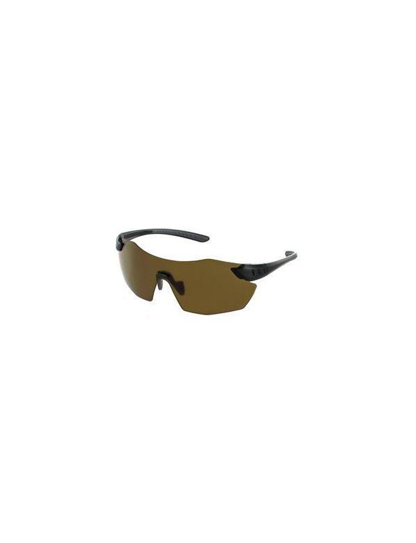 Střelecké brýle EVO - Chameleon (Dark Brown), tmavě hnědá skla