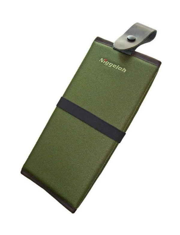 Sedák Niggeloh - nylon, zelený (011100014)