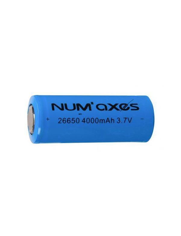Baterie Numaxes - (CPELEPIL076) 26650 3,7V Li-ion