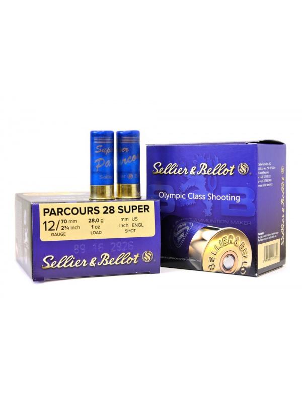 Náboj SB 12x70-2,25mm Super Parcours 28g (plast)