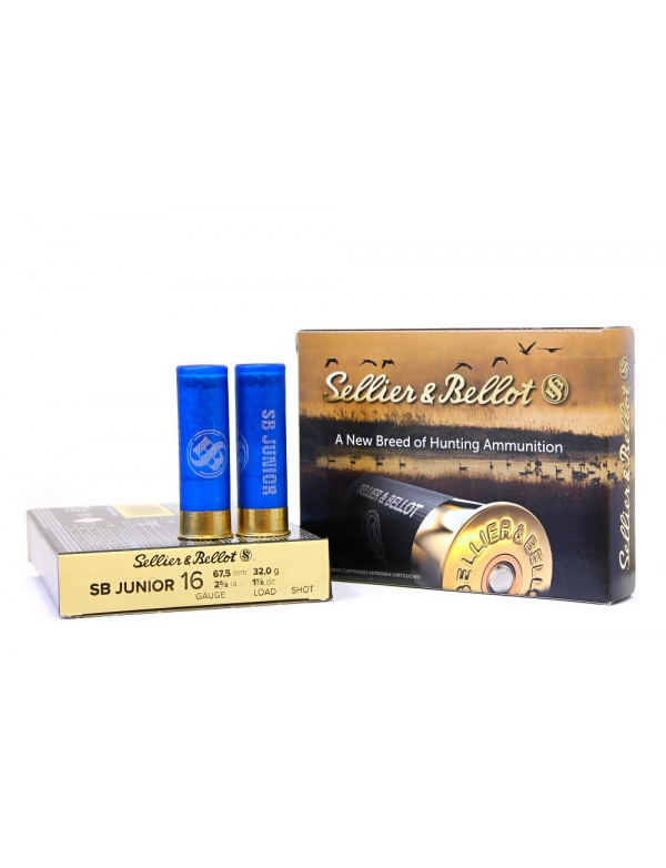 Náboj SB 16x67,5-4,5mm Junior 32g (plast)