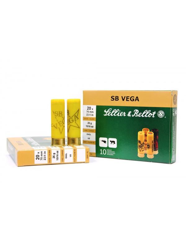 Náboj SB 20x70-3,0mm Vega 26g (plast)