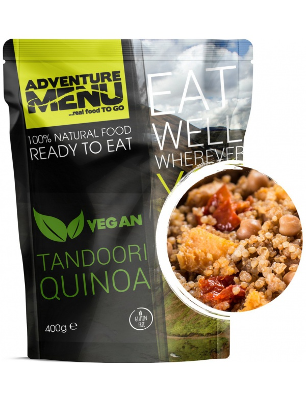 Jídlo AM * Tandoori Quinoa, 400g, samoohřev, Adventure Menu