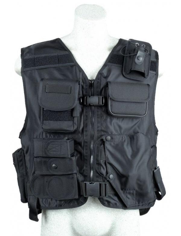 Vesta Dasta * 639 UNI * Taktická vesta s pouzdrem na pistoli