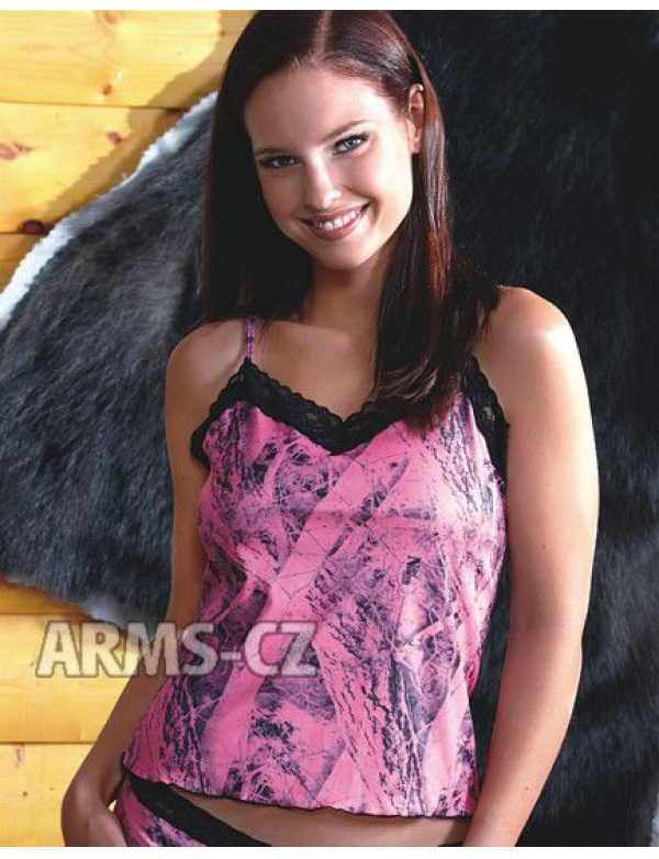 Košilka Wilderness - NN Pink Lace Camisole (601139) - VZOROVÁ