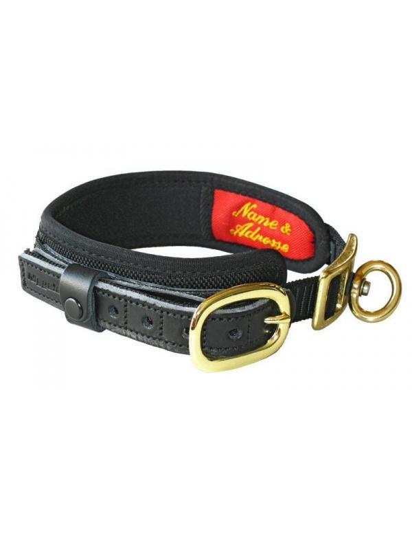 Obojek Niggeloh - Collar DE LUXE, černý