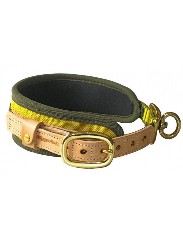 **Obojek Niggeloh - Collar ULTRA, refl.žluto-zelený