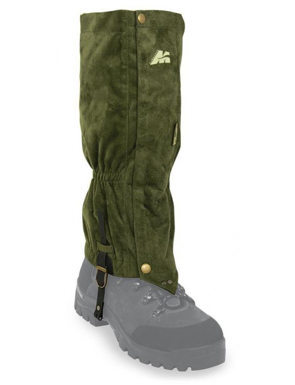 Návleky Marsupio - SUEDE MAXIMO, lovecké návleky na boty a nohavice