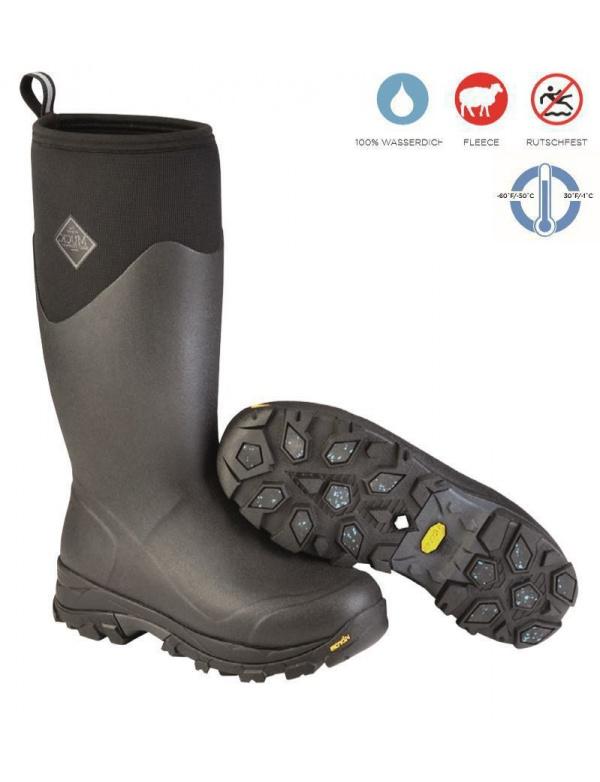 Holinky MUCKBOOT - Arctic ice tall black vel. 39/40-49 (AVTV-000)