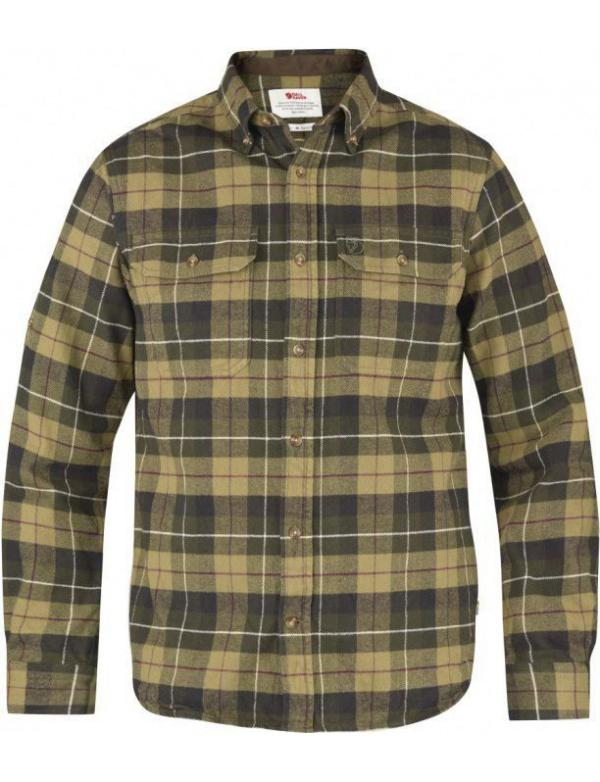 Košile Fjällräven Singi Heavy Flannel Shirt (81373), flanelová, barva 620