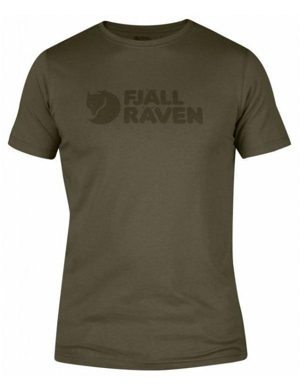Triko Fjällräven Logo T-Shirt (81956), kr. rukáv, barva 246