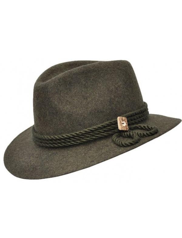 Klobouk Werra - (0926) Evžen, nátylník, 100% vlněná plsť, klobouk do kapsy, vel.