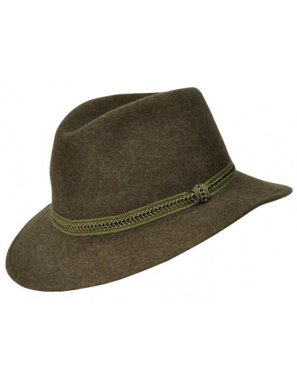 Klobouk Werra - (0908) Erik, 100% vlněná plsť, klobouk do kapsy, vel. 54-61