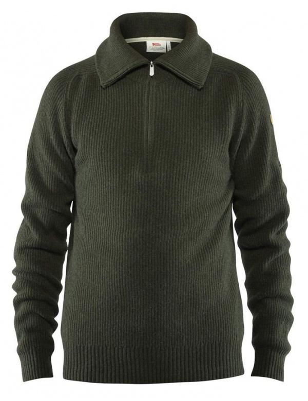 Svetr Fjällräven Greenland RE-Wool Sweater (81863), barva 662