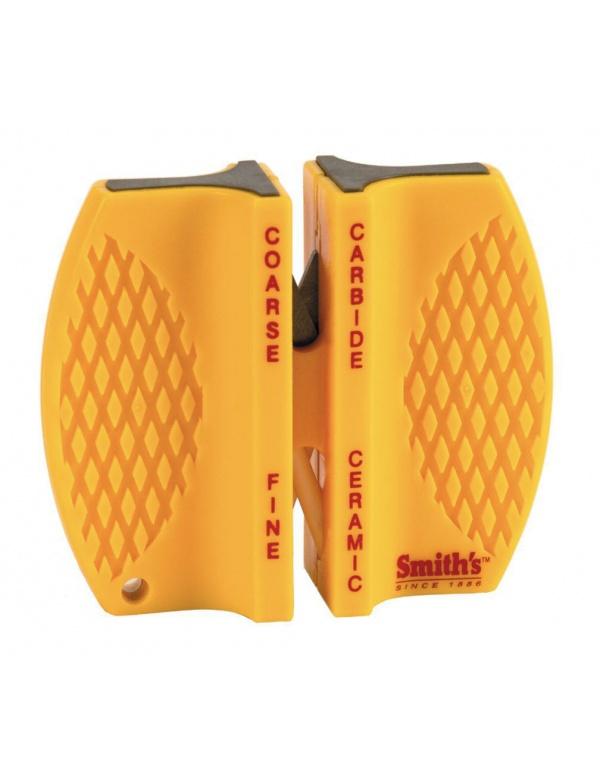Brousek Smiths *CCKB* ruční oboustranný, carbide/ceramic, žlutý plast (á1ks) volně