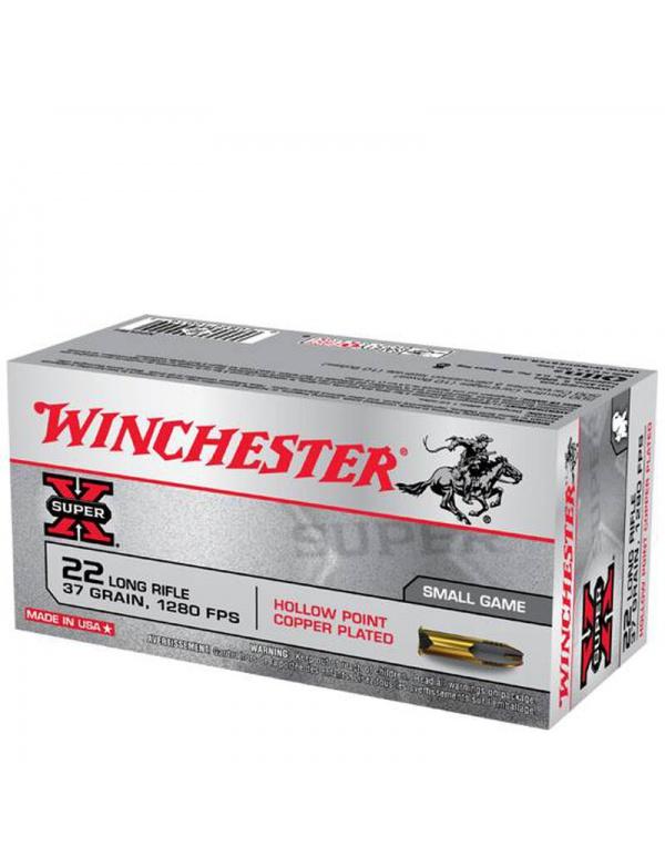 Náboj Winchester 22 LR Super X, 37gr. LHP (X22LRH) po 50ks