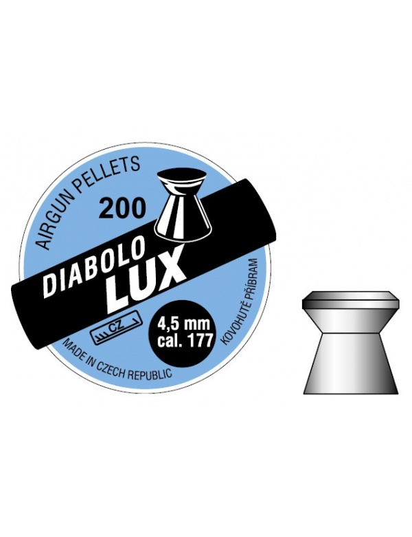 Diabolo Příbram - Lux 4,5mm á200