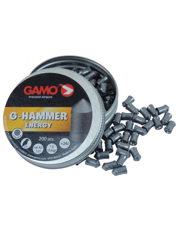 Diabolo GAMO G-Hammer 4,5mm á200ks, Heavy power