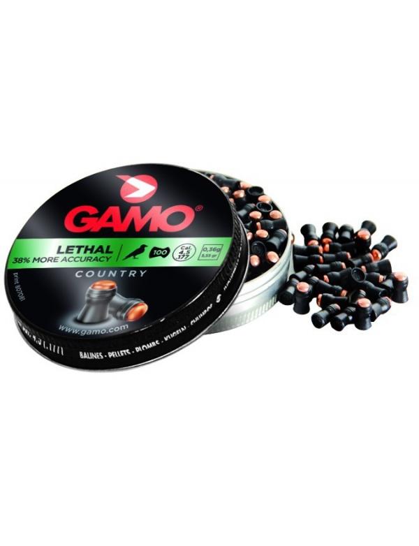 Diabolo GAMO Lethal 4,5 mm á100ks - 0,36g.
