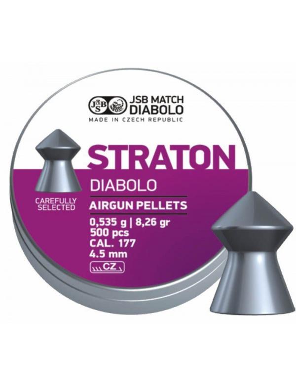 Diabolo JSB Match - Straton cal.177, r. 4,5mm á500ks (hmot. 0,535g)